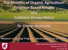 Evidence-based research proves benefits of organic agriculture Sustainable Farming, Sustainability, Washington State University, Brand Management, Food Industry, Organizations, Diversity, Agriculture, Benefit