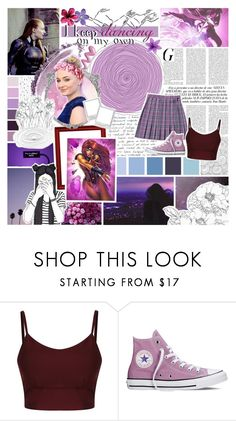 """☼; You thought that I'd be weak without you, but I'm stronger. // [ battle of the heroines ] Round O7"" by this-girl-on-fire ❤ liked on Polyvore featuring Converse, NARS Cosmetics and Seed Design"