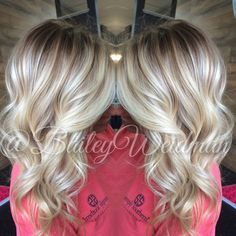 Brunette Balayage & Hair Highlights : Melted root with bright blonde baliage. In SC? Make an appointment with me! Love Hair, Great Hair, Gorgeous Hair, Blonde Baliage, Baylage, Icey Blonde, Warm Blonde, Bright Blonde, Hair Color And Cut