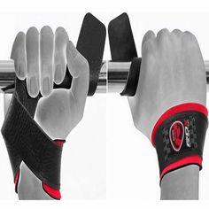RDX Cuff Weight Lifting Training Gym Straps Hand Bar Grip Gloves Support US