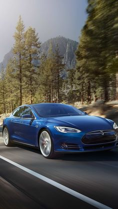 Tesla Model S wallpapers for iPhone