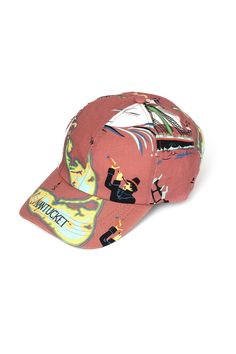 Classic baseball hat in our N.TUC print on cotton canvas. One size 89d3a03ba31