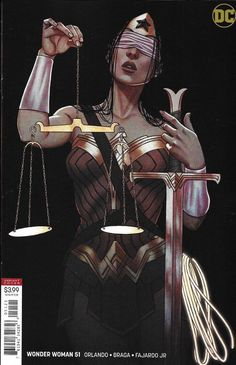 Drawing Dc Comics Wonder Woman Comic Issue 51 Limited Variant Modern Age First Print Orlando Braga - Marvel Girls, Comics Girls, Dc Comics Women, Comic Book Covers, Comic Books Art, Comic Art, Wonder Woman Art, Wonder Woman Comic, Dc Comics Art
