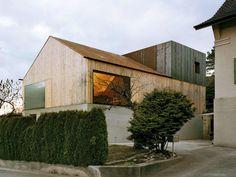 Atelierhaus Büsserach | Switzerland | Degelo Architekten | photo © Ruedi Walti