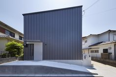 Gallery of House in Uji / AKI WATANABE Architects - 1 Architecture Courtyard, Architecture Panel, Residential Architecture, Architect House, Architect Design, Japanese Modern House, Dragon House, Architectural Materials, Box Houses
