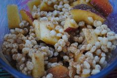 Barley Almond Butter Breakfast Bowl