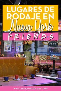 Para los fans de F.R.I.E.N.D.S. aquí van los lugares de rodaje de la serie en Nueva York.#NuevaYork#NYC#Manhattan#NuevaYorkfotos I Love Ny, Love You, Nyc, Future Travel, World Traveler, List Ny, Travel Usa, Top Vacations, New York Trip