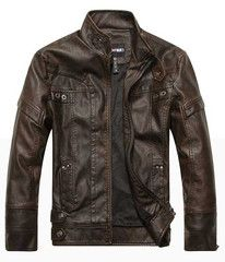 The Ton Up Jack Brown – Leather & Cotton