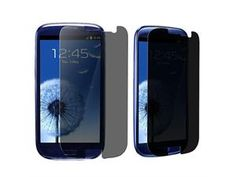 2 packs of Privacy Screen Covers compatible with Samsung© Galaxy S III i9300