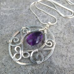 Wire Jewelry Tutorial BLOSSOM DROPS Pendant & Earrings