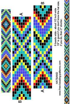 Bilderesultat for Native American Loom Beading Patterns Free Native Beading Patterns, Seed Bead Patterns, Peyote Patterns, Weaving Patterns, Cross Stitch Patterns, Chevron Patterns, Jewelry Patterns, Loom Bracelet Patterns, Bead Loom Bracelets