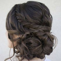Score maximum style points at your Quinceanera! Take a look at the following low updos that are guaranteed to bring oohs and ahhs at first glance!
