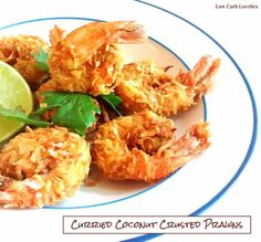1- Curried Coconut Crusted Prawns - by Low Carb Lovelies (5)