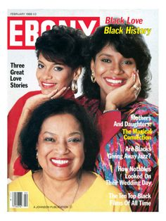 Ebony Magazine, February 1988 by Moneta Sleet