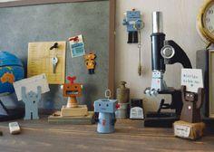 Concombre Robot (Konkonburu robot) pencil sharper, etc.