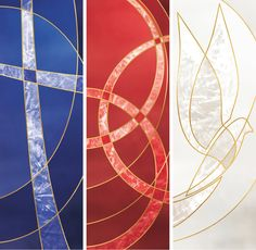 Liturgical Symbol Banners on Behance