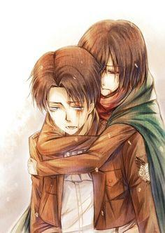 Levi x Mikasa