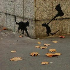 Funny pictures about Clever Graffiti. Oh, and cool pics about Clever Graffiti. Also, Clever Graffiti photos. 3d Street Art, Amazing Street Art, Street Art Graffiti, Amazing Art, Graffiti Artwork, Street Artists, Banksy Art, Stencil Graffiti, Amazing Things