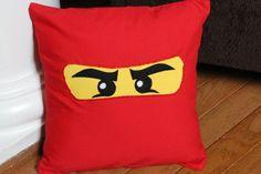 Ninjago Pillow Case by CreativeKryptonite on Etsy, $15.00
