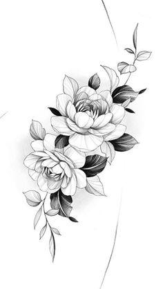Floral Tattoo Design, Tattoo Designs, Daniel Tattoo, Graffiti Art, Tattoo Studio, Flor Tattoo, Floral Thigh Tattoos, Tattoos For Women Flowers, Forest Tattoos