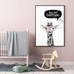 Giraffe Wall Art, Safari Nursery, Printable Wall Art, Giraffe Nursery, Baby Girl, Digital Prints, Kids Room Decor, Safari Baby Shower Giraffe Nursery, Safari Nursery, Nursery Art, Printable Wall Art, Digital Prints, Kids Room, Room Decor, Printables, Baby Shower