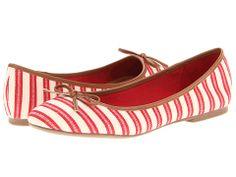 MIA Blondell Red Stripe - 6pm.com - $21.99, free shipping
