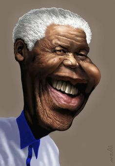 Nelson Mandela  (By Medi Belortaja)