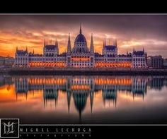Budapest - Parliament by Sunrise by Miguel Lechuga on 500px