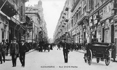 Sherif Pasha St, Alexandria, Egypt, early 20th century.