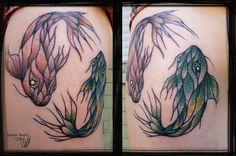 Design and tattoo by Sanne Vaghi (Berlin/traveling) www.facebook.com/pages/Sanne-Vaghi www.instagram.com/sanne_vaghi