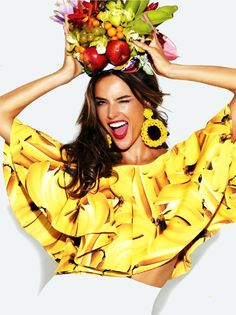SHE LOVES FASHION: Alessandra Ambrosio – Glamour Brazil September 2013