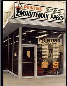 The Original Minuteman Press!