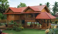Super Tropical House Design Philippines Home 68 Ideas Wooden House Design, Bamboo House Design, Tropical House Design, Simple House Design, Dream Home Design, Tropical Houses, Thai House, Style At Home, Philippines House Design