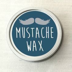 Beards are a total trend lately - and for good reason, they're awesome! But they also require some upkeep, and this mustache wax is perfect as a styling balm, to condition facial hair, and tame frizz! (And it's not JUST for your mustache!)