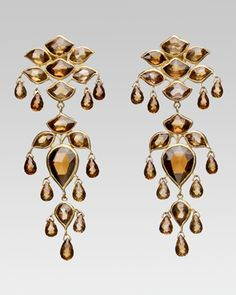 Earrings by Gem Palace; beautiful but I wish there were some details of which they are made.