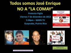 """FUERA """"LA COMAY""""  Diciembre 2012, San Juan,  Puerto Rico"""