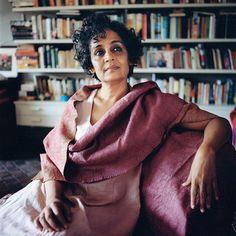 Arundhati Roy, 52, Indian author and political activist.