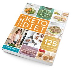 Keto cookbooks and keto how to guides by International best selling author, Leanne Vogel. Recipes, keto meal plans and every day support for the keto woman. Leanne Vogel, Keto Diet Review, Keto Diet Book, Keto For Women, Diet Reviews, Ideal Protein, High Fat Diet, Keto For Beginners, Keto Meal Plan