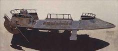 A Bantha-II cargo skiff.
