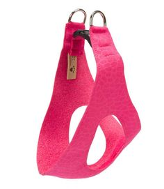 Susan Lanci harness SALE! Pure and Simple style in step-in dog harness is sure to please you and your pets. Super soft, very durable, upholstery-grade genuine Ultrasuede. Cut just right to avoid choki