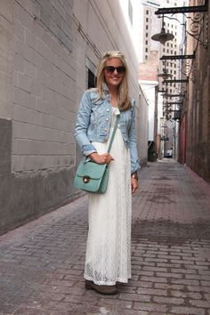 Chicago Street Style - Maxi Skirts In Chicago