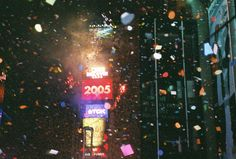 Times Square, NY  New Years Eve 2005...Crazy fun!