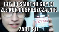 Polish Memes, Depression Memes, Reasons To Live, Sentences, Lol, Humor, Funny, Youtube, Frases