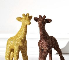 Safari Giraffes Jungle Nursery Decor for Baby Shower Decorations in Gold and Brown Golden Glitter, Table Settings or Children's Room Decor Jungle Room, Jungle Nursery, Nursery Decor, Zebra Nursery, Gender Neutral Baby Shower, Childrens Room Decor, Nursery Inspiration, Baby Shower Decorations, Cute Animals
