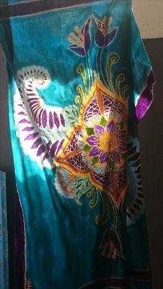 My first batik work at WidyaBatik in Bali.