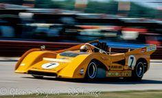 Peter Revson McLaren M8F Road America 1971