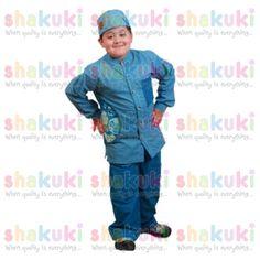 Blue Denim Moslem Boys Set. Detail and order, pls visit http://www.shakuki.com/1712,2407-0350-blue-denim-moslem-boys-dress.html