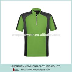 Fashion 100 Polyester Short Sleeve Promotion Golf Shirts For Man #rugby_clothing, #Mens_Fashion