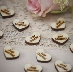 25 X Rustic Wooden Mr & Mrs Heart Wedding Table Scatter Confetti Decoration for sale online Rustic Wedding Centerpieces, Wedding Table Decorations, Table Centerpieces, Wedding Tables, Wedding Venues, Wedding Reception, Wedding Destinations, Rustic Weddings, Winter Weddings