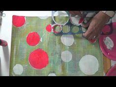 Mixed Media Friday - Art Journal Tutorial - Fly like a bird - YouTube